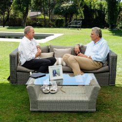 Romay hablando con Bertín Osborne en 'Mi casa es la tuya'