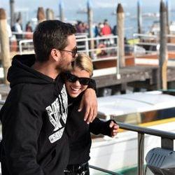 Sofia Richie y Scott Disick en Venecia