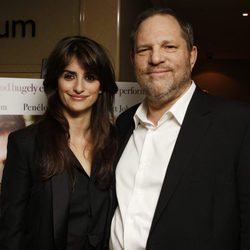 Penélope Cruz y Harvey Weinstein