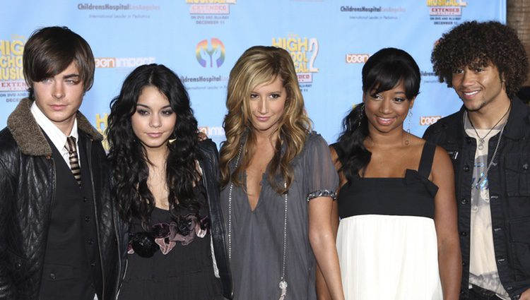 El reparto de High School Musical en Los Angeles