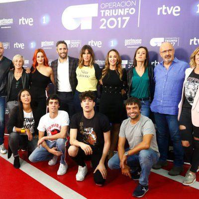 Todos los profesores de 'Operación triunfo 2017'