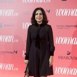 Isabel Gemio en el 25 aniversario de la revista Woman