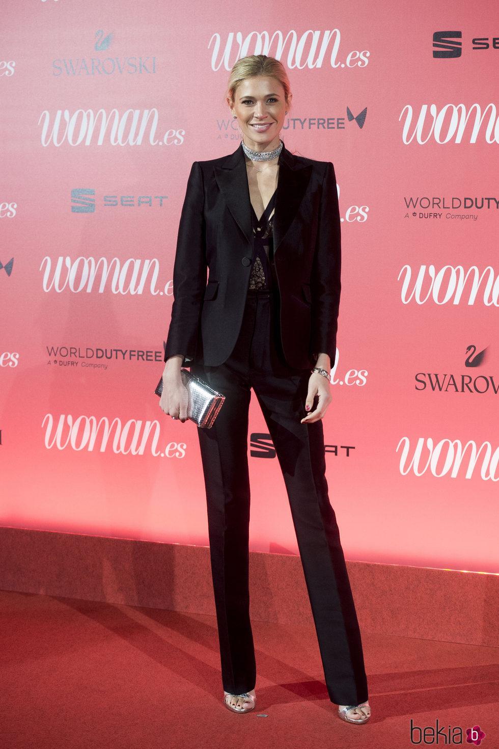 Carla Pereyra en el 25 aniversario de la revista Woman