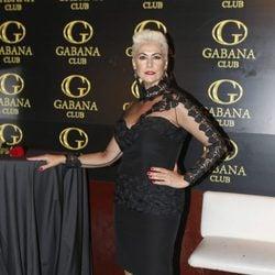 Irma Soriano en la fiesta del 50 cumpleaños de Ivonne Reyes