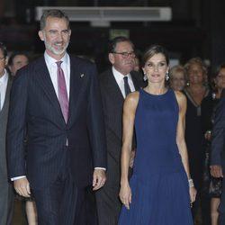 Los Reyes Felipe y Letizia en el concierto Premios Princesa de Asturias 2017