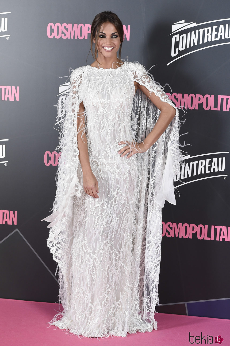 Lara Álvarez en los Premios Cosmopolitan 2017