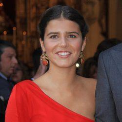 Cayetana Rivera, muy elegante en la boda de Lourdes Montes y Fran Rivera