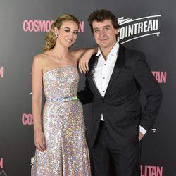 Marta Hazas y Javier Veiga en los Premios Cosmopolitan 2017