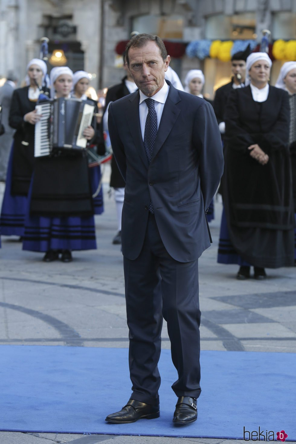 Emilio Butragueño en los Premios Princesa de Asturias 2017