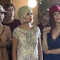 Nadia de Santiago, Ana Polvorosa y Ana Fernández en la segunda temporada de 'Las chicas del cable'