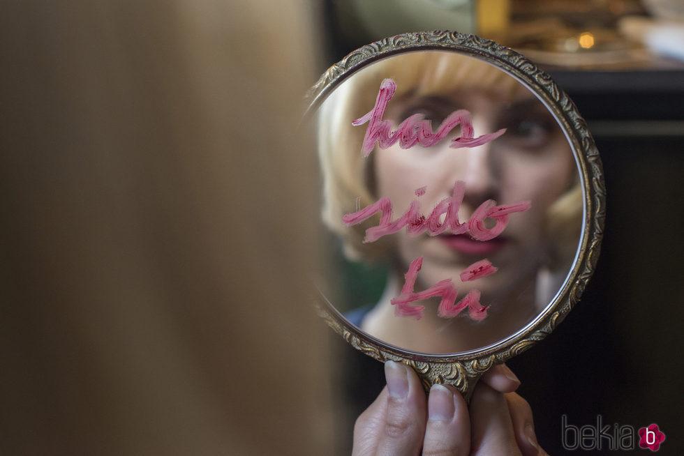 Maggie Civantos en la segunda temporada de 'Las chicas del cable'