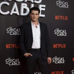 Yon González en la presentación de 'Las chica del cable'