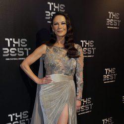 Catherine Zeta-Jones en la gala de los Premios The Best Fifa 2017