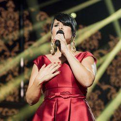 Rosa López actuando en la primera gala de 'Operación Triunfo 2017'