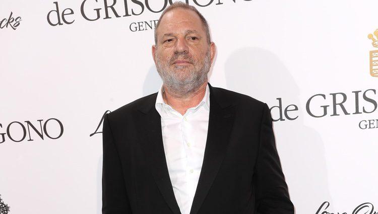 Harvey Weinstein en Cannes