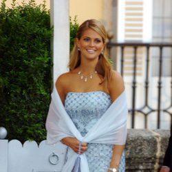 Magdalena de Suecia en la boda de los Reyes Felipe y Letizia