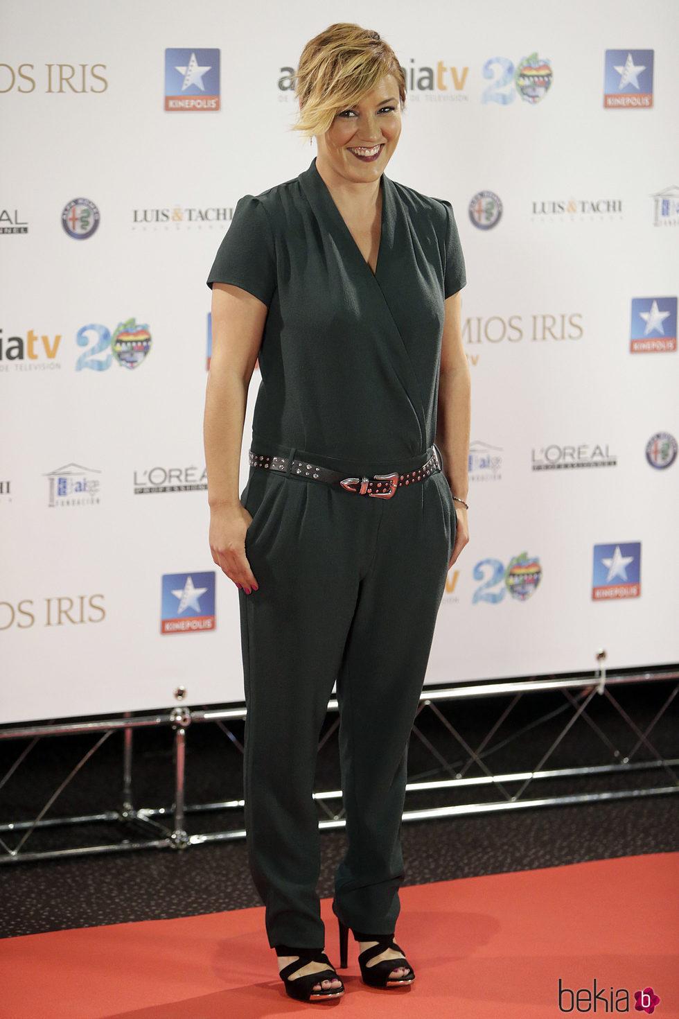 Cristina Pardo en los Premios Iris 2017