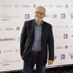 Xavier Sardá en los Premios Iris 2017