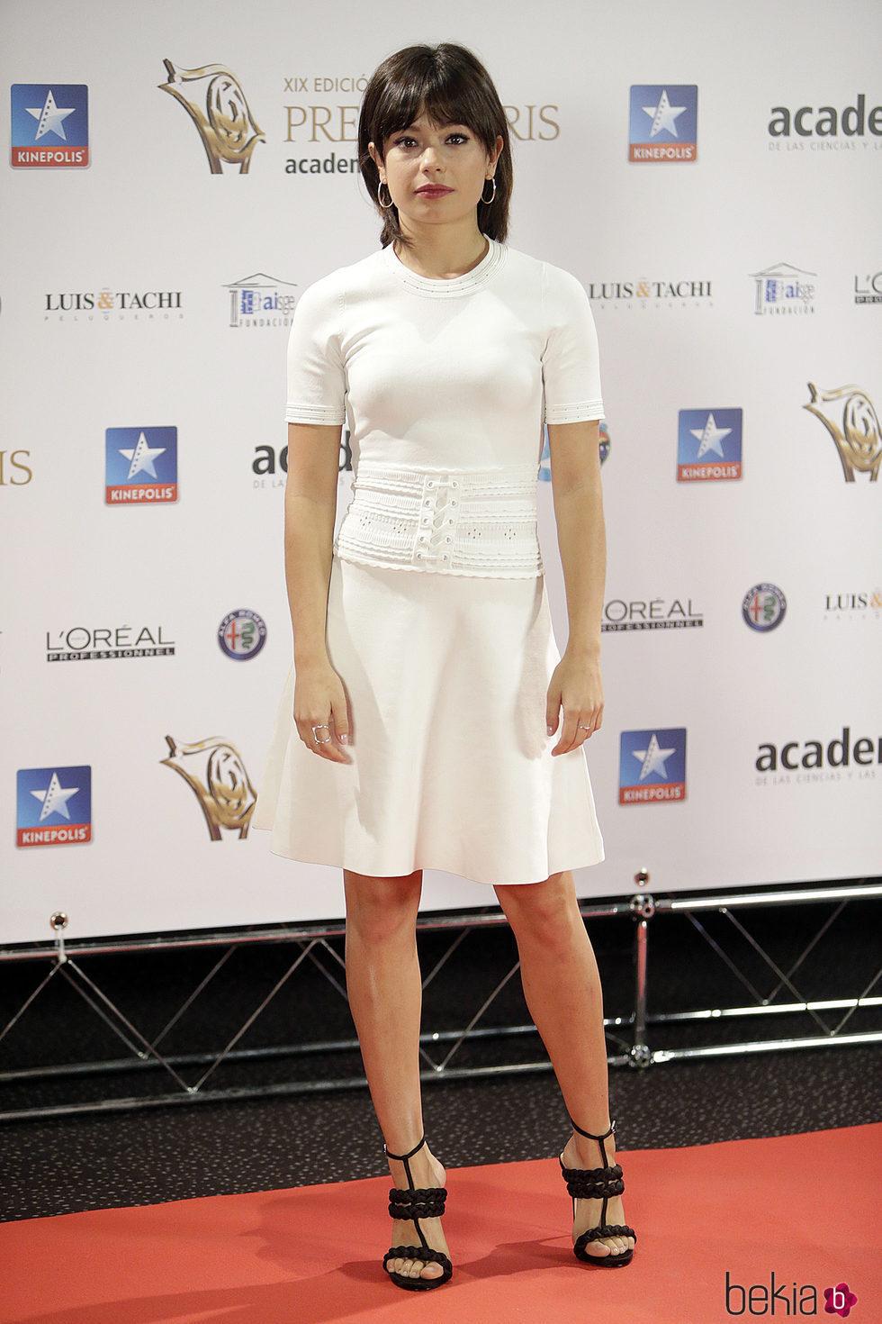Anna Castillo en los Premios Iris 2017