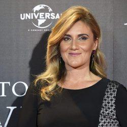 Carlota Corredera en el estreno de 'El secreto de Marrowbone'
