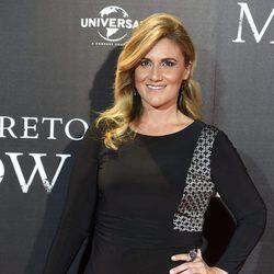 Carlota Corredera en la premiére de 'El secreto de Marrowbone'