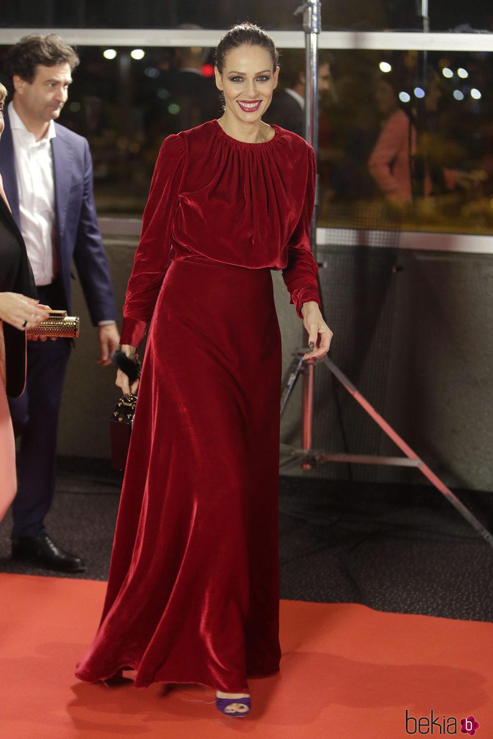 Eva González en los Premios Iris 2017