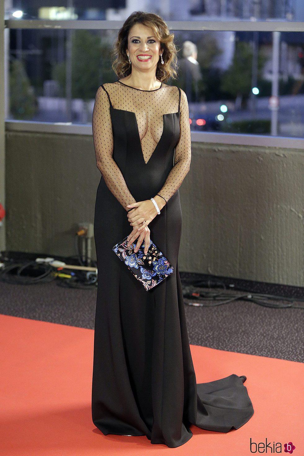 Silvia Jato en los Premios Iris 2017