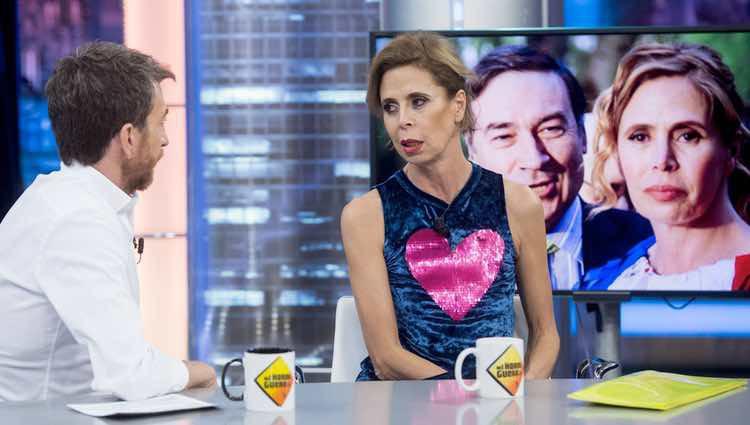 Ágatha Ruiz de la Prada hablando de su divorcio de Pedro J. Ramírez en 'El hormiguero'