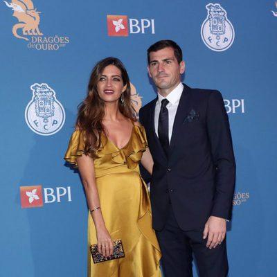 Sara Carbonero e Iker Casillas en la Gala de los Dragones