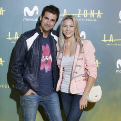 Álex Adrover y Patricia Montero en el estreno de 'La zona'