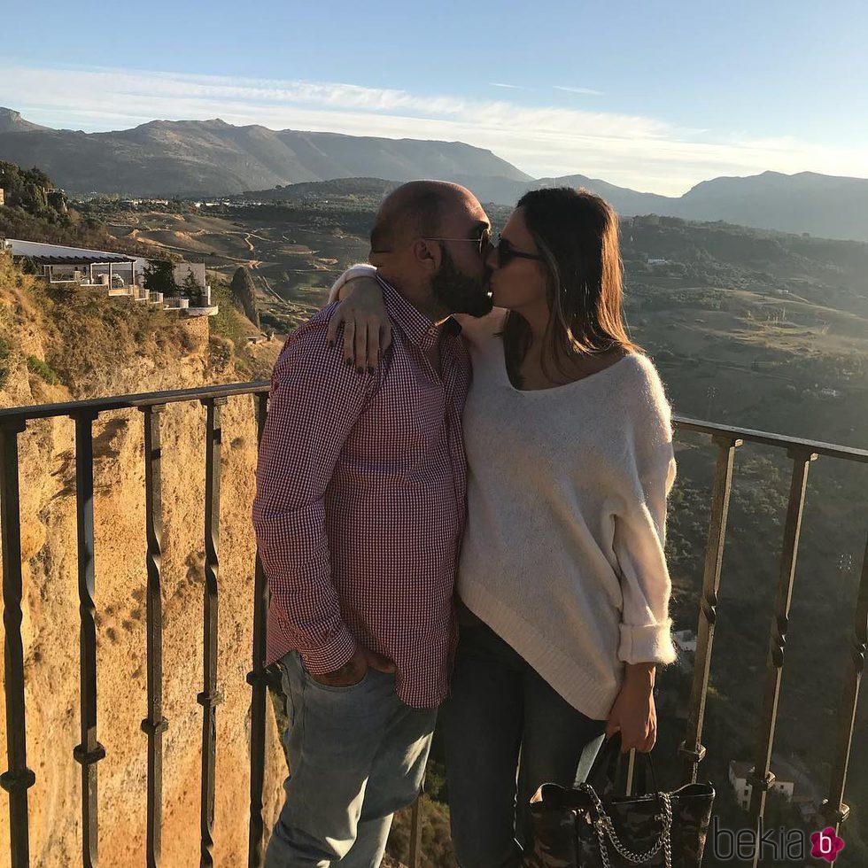 Kiko Rivera e Irene Rosales presumiendo de amor