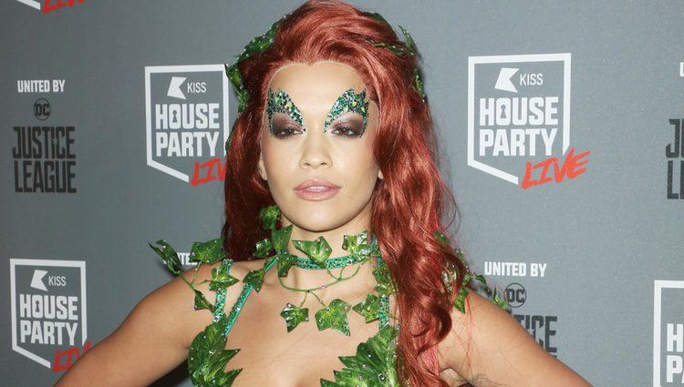 Rita Ora en la fiesta de Halloween 2017
