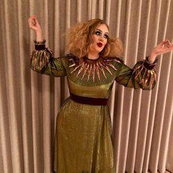 La cantante Adele en Halloween 2017