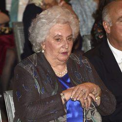 La Infanta Pilar en el 25 aniversario del Museo Thyssen