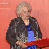 La Infanta Pilar, premiada en el 25 aniversario del Museo Thyssen