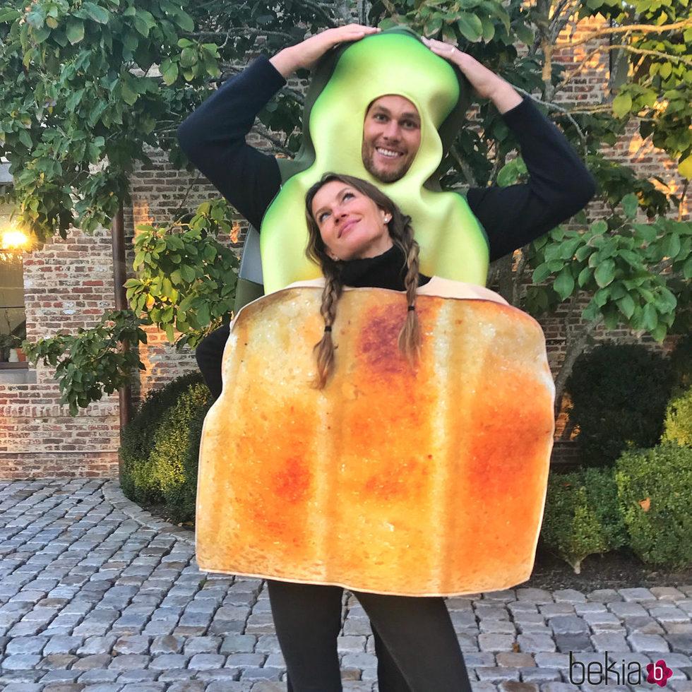 Gisele Bündchen y Tom Brady en Halloween 2017