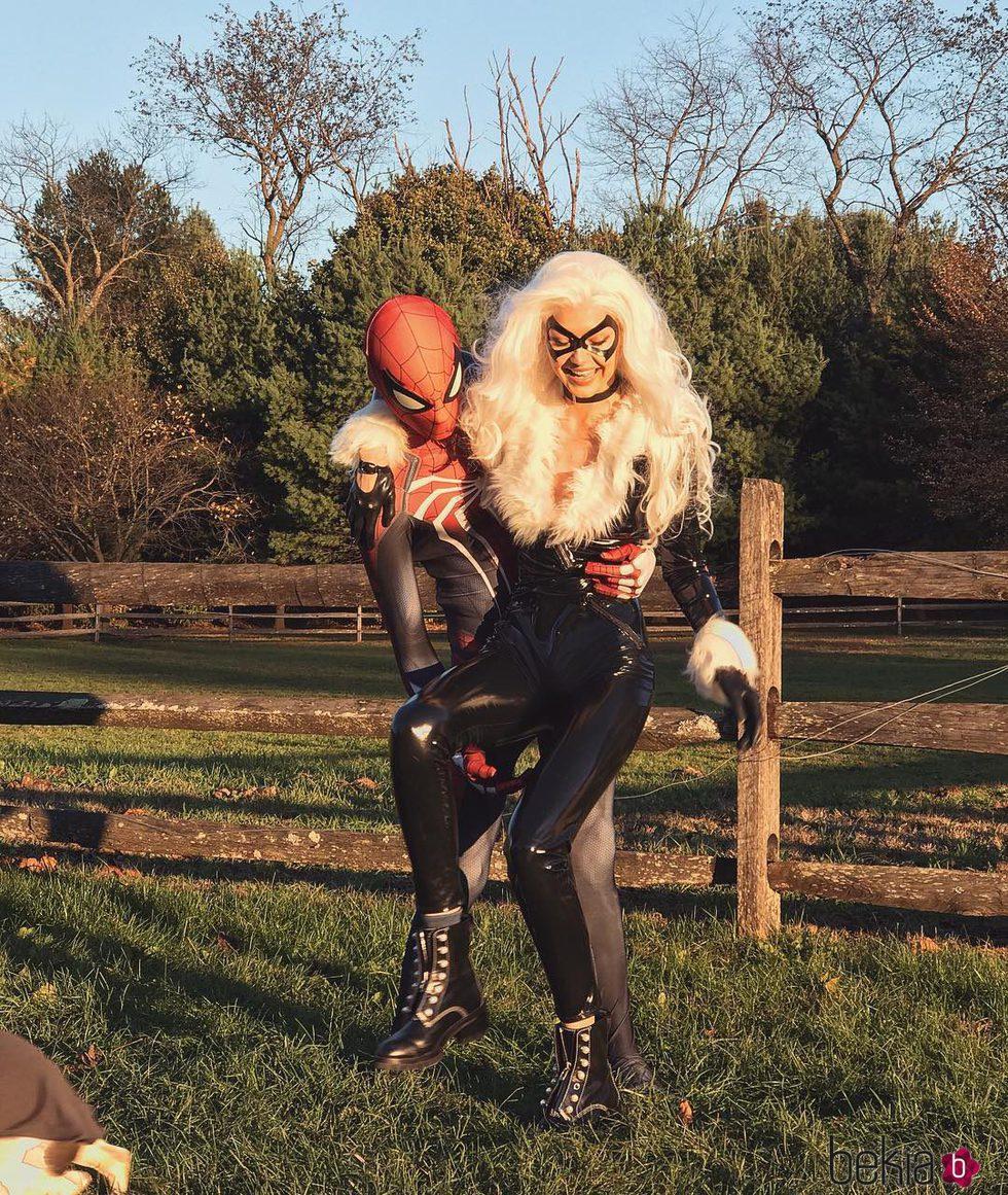 Gigi Hadid y Zayn Malik en Halloween 2017