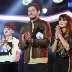Marina, Cepeda y Aitana en la Gala 1 de OT1