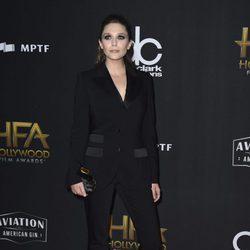 Elizabeth Olsen en la alfombra roja de los Hollywood Film Awards 2017
