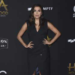 Eva Longoria en la alfombra roja de los Hollywood Film Awards 2017