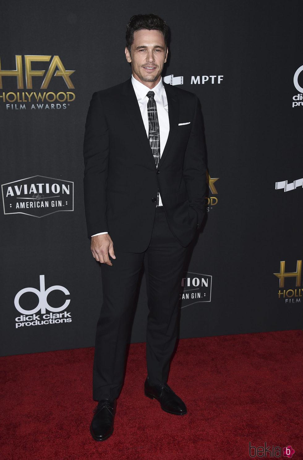James Franco en la alfombra roja de los Hollywood Film Awards 2017