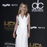 Holly Hunter en la alfombra roja de los Hollywood Film Awards 2017