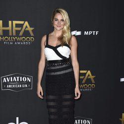 Shailene Woodley en la alfombra roja de los Hollywood Film Awards 2017