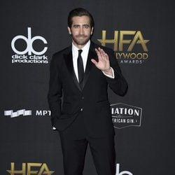 Jake Gyllenhaal en la alfombra roja de los Hollywood Film Awards 2017