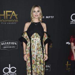 Margot Robbie en la alfombra roja de los Hollywood Film Awards 2017