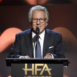 Dustin Hoffman en la gala de los Hollywood Film Awards 2017
