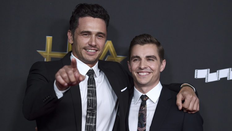 James Franco y Dave Franco en la alfombra roja de los Hollywood Film Awards 2017