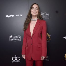 Dakota Johnson en la alfombra roja de los Hollywood Film Awards 2017