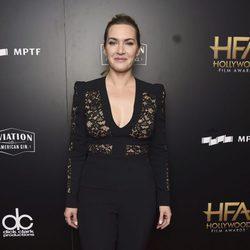 Kate Winslet en la alfombra roja de los Hollywood Film Awards 2017