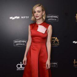 Carey Mulligan en a alfombra roja de los Hollywood Film Awards 2017